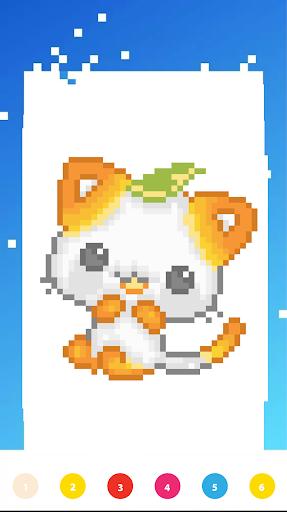 Unicorn Art Pixel - Color By Number  Screenshots 7