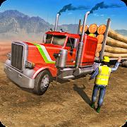 American Truck Cargo Car Transporter Driving