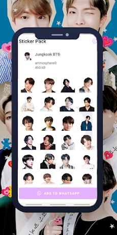 Jungkook BTS WAStickerのおすすめ画像1