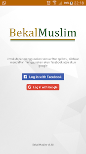 Bekal Muslim Screenshot