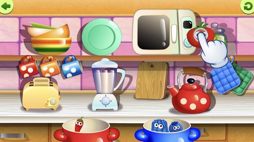 FunnyFood Kindergarten learning games for toddlers 2.4.1.19 Screenshots 5