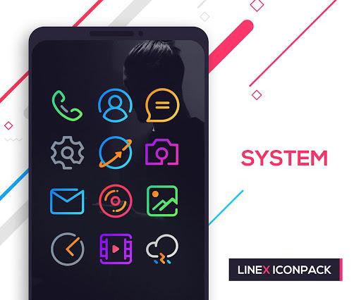 LineX Icon Pack  screenshots 2