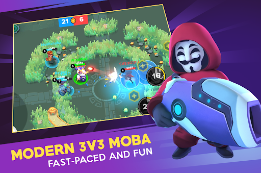 Heroes Strike Offline - MOBA & Battle Royale 53 screenshots 7