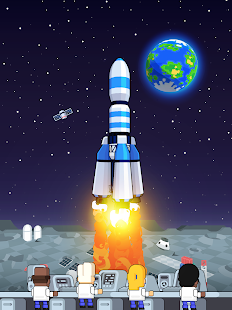 Rocket Star - Idle Space Factory Tycoon Game Screenshot