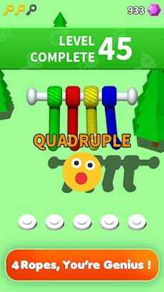 Untangle 3D: Tangle Rope Master - 楽しいパズルゲームのおすすめ画像2