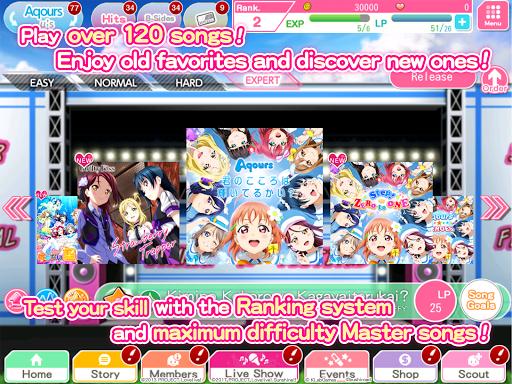 Love Live! School idol festival- Music Rhythm Game 7.1.0 screenshots 17