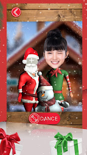 Christmas Dance – Put Your Face in a 3D Video