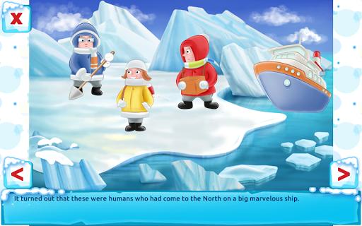 Polar Bear Cub - Fairy Tale with Games Free  screenshots 11
