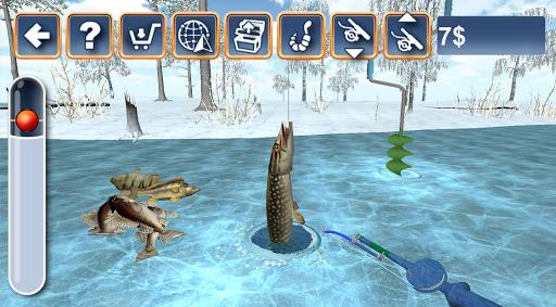 Fishing in the Winter. Lakes. 1.30 screenshots 1