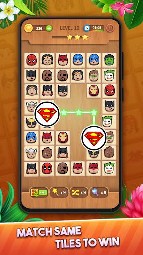 Tile Puzzle: Pair Match and Connect Game 2021 Apkfinish screenshots 13