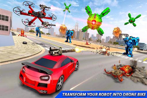 Drone Robot Car Transforming Gameu2013 Car Robot Games 1.1 Screenshots 20