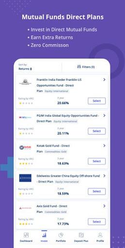Free Credit Score, Loans, Cards & Mutual Funds screenshots 5