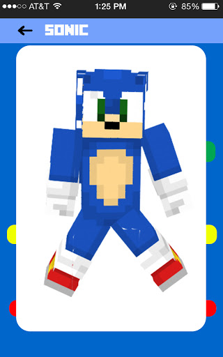 Sonic For Minecraft Free Skins Addon and New Map! 1.0 screenshots 3