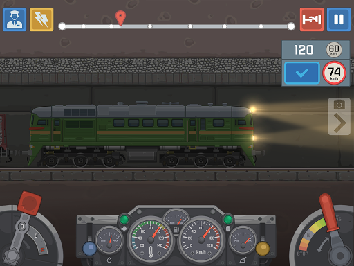 Train Simulator - 2D Railroad Game  Pc-softi 11