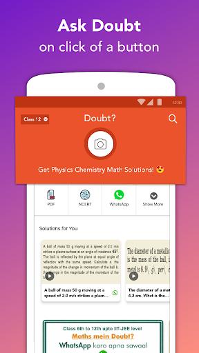 Doubtnut: NCERT Solutions, Free IIT JEE & NEET App 7.8.151 screenshots 1