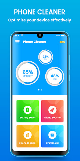 Phone Cleaner - Cache Cleaner & Speed Booster android2mod screenshots 1