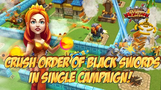 Dragon Lords: 3D strategy 4