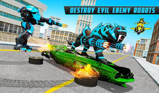 Panther Robot Transform Games screenshots 5