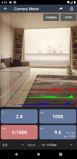 Light Meter - Free modavailable screenshots 2