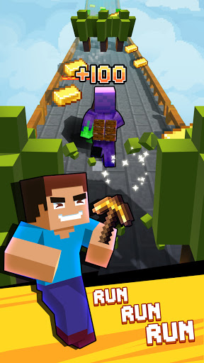 Craft Runner - Miner Rush: Building and Crafting Apkfinish screenshots 5