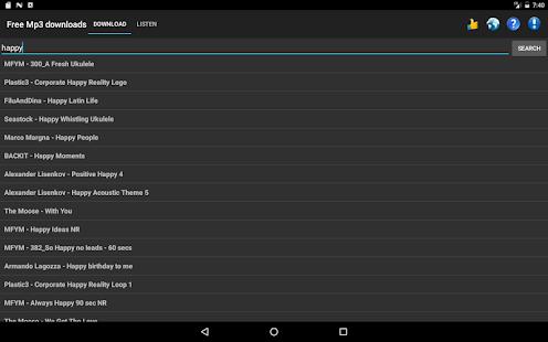 Free Mp3 Downloads 7.0.1 Screenshots 9