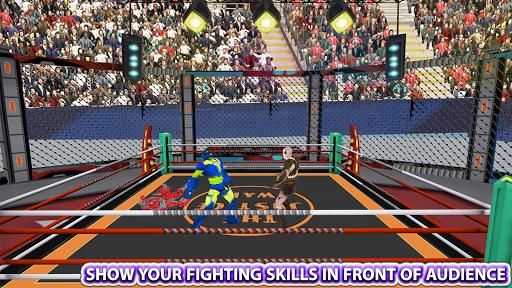 Real Robot Ninja Ring Fight: Fighting Games 2020 apktreat screenshots 1