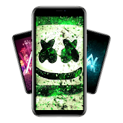 Marshmello x Alan Walker  Offline Wallpaper