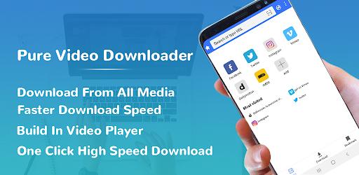 Pure All Video Downloader - Free Video downloader  screenshots 1