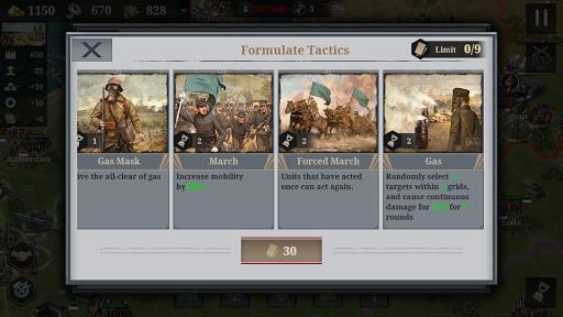 European War 6:1914 - WW1 Strategy Game 1.3.14 screenshots 8