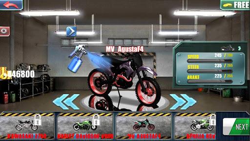 motorcycle traffic 3d screenshot 2