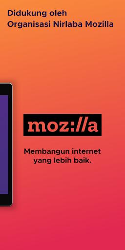 Firefox browser web yang cepat pribadi dan aman