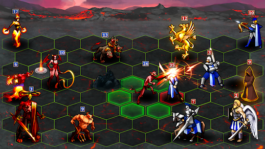 Heroes Magic Inferno: Strategy 4