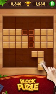 Holzblock-Puzzle Screenshot