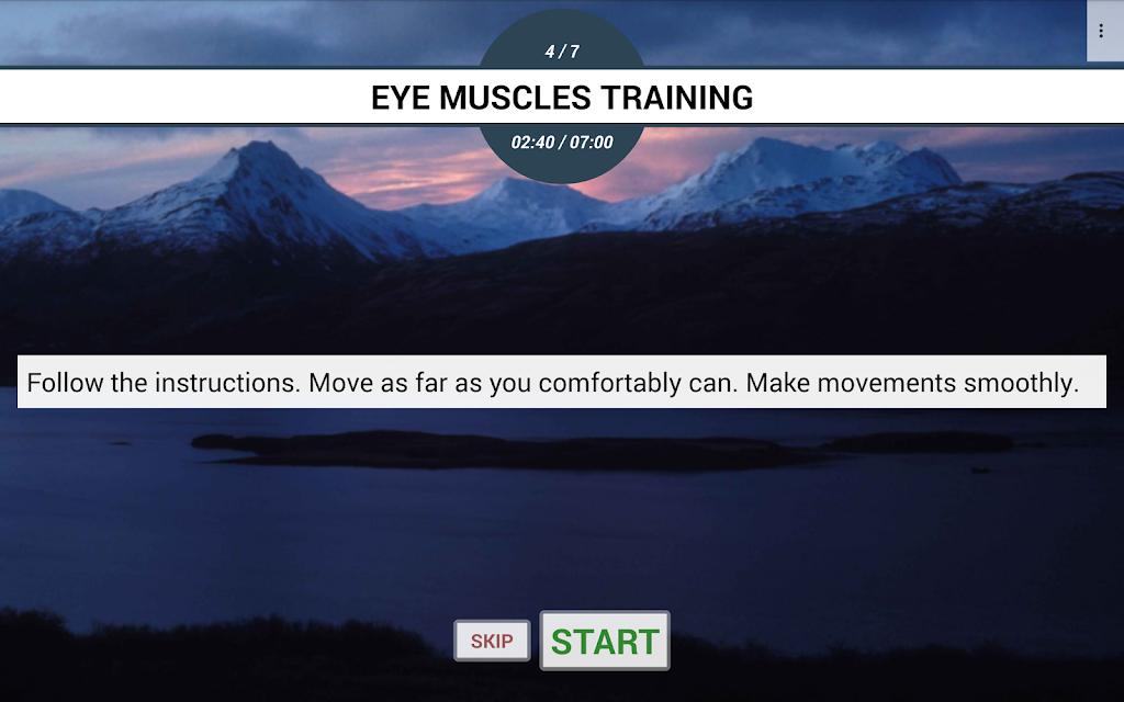 Eye exercises PRO  poster 17