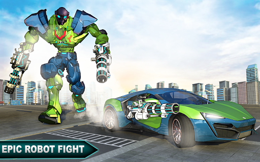 Incredible Monster Robot Hero Crime Shooting Game 2.0.4 screenshots 7