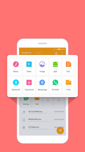 Foto do FileManager Pro free up space WhatsApp status save