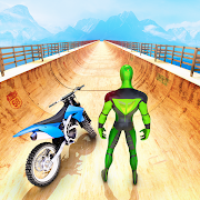 Mega Ramp Bike GT Racing 3D: Bike Stunt Games 2021