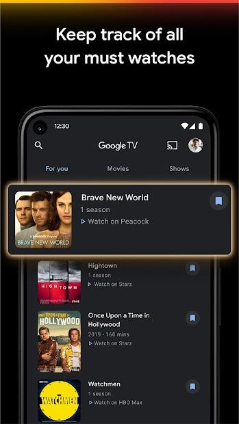 Google TV (previously Play Movies & TV) screenshot 3