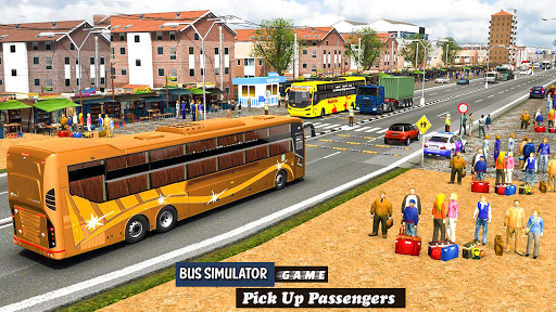 Coach Bus Driving Simulator 2020: City Bus Free 0.1 Screenshots 2