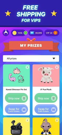 Winner Winner Live Arcade - Real Claw Machines apkpoly screenshots 5