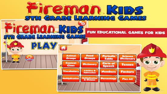 5th Grade Games: Fireman 3.30 screenshots 1