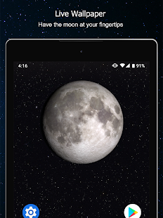 Phases of the Moon Calendar & Wallpaper Free Screenshot