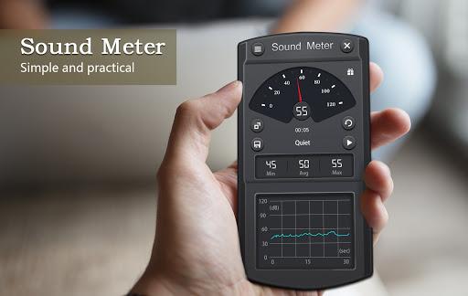 Sound Meter - Decibel Meter  screenshots 1