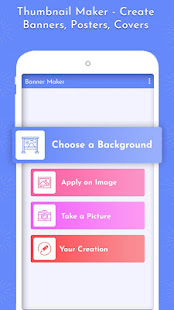 Banner Maker - Create Thumbnails, Posters, Covers