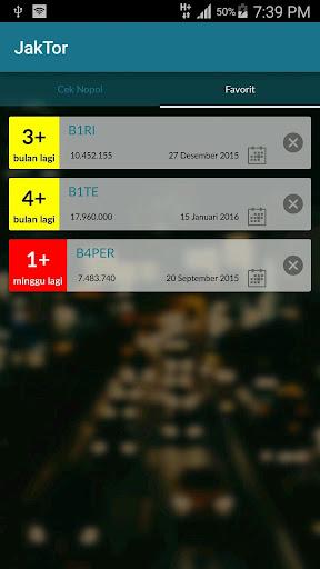 JakTor (Cek Nomor Polisi) 1.1 Screenshots 5