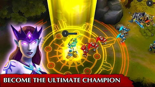 Legendary Heroes MOBA MOD Apk 3.0.80 (Unlimited Money) 1