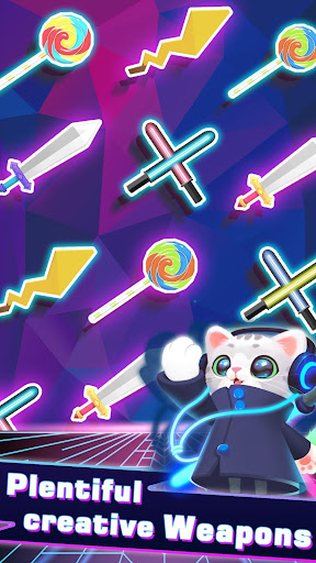 Sonic Cat - Slash the Beats  screenshots 5
