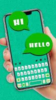 Sms Chat Board Keyboard Theme