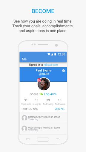 EdCast - Knowledge Sharing modavailable screenshots 3