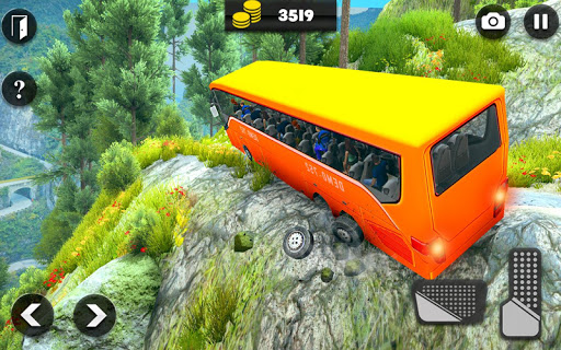 Offroad Bus Driving Simulator 2019: Mountain Bus apktram screenshots 5